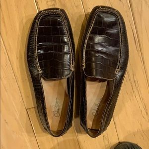 Cole Haan shoes alligator reptile print 9 1/2 M